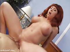 Big Boobs Mature MILF Redhead