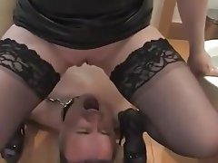 MILF Wife Pissing Husband
