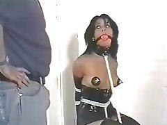Babe Vintage BDSM Interracial