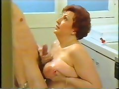 BBW Blowjob Granny Old and Young