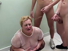 Group Sex Granny Mature BBW