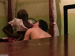 Teen Amateur Blowjob Interracial