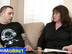 Blowjob Hardcore Mature Stockings