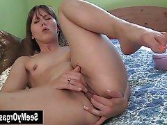 Amateur Masturbation Orgasm Softcore