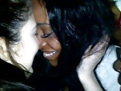 Amateur Lesbian Bisexual Interracial