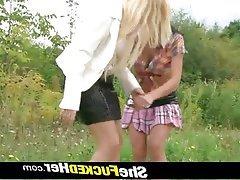 Blonde Lesbian Czech