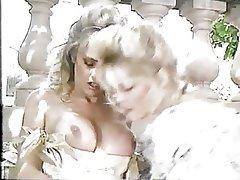 Blonde Lesbian Retro
