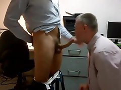 Blowjob Office