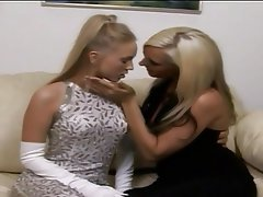 Blonde Lesbian Lingerie