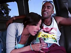 Teen Car Bus Blowjob