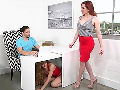 Stepmom Threesome