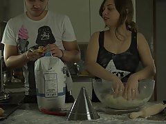 Teen Kitchen Femdom
