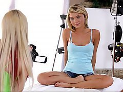 Casting Babe Blonde Teen