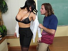 Teacher College Coed Student