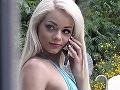 Teen Cute Blonde Blowjob