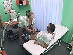 Teen Babe Blonde Nurse