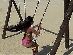 Beach Brazil Latina Latina