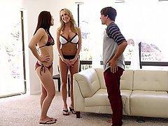 Boyfriend MILF Threesome Threesome
