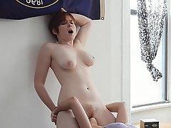 Teen Lesbian Nudist Redhead