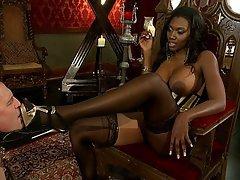 Black Ebony Mistress Femdom