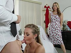 Wedding Threesome Pornstar