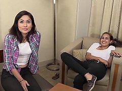 Latina Casting College Coed