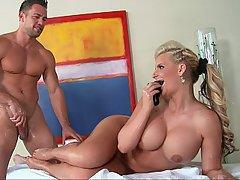 Massage Pornstar Blonde Big Tits