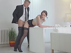 Office Secretary Hardcore Babe