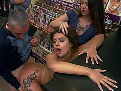 Public Teen BDSM