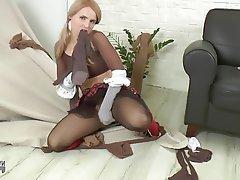 Stockings MILF Nylon Pantyhose