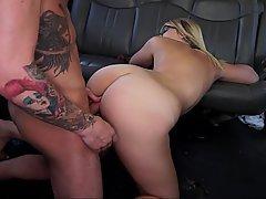 Blonde Ass Fucking Car
