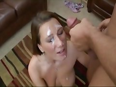Facial POV Cum in mouth Compilation
