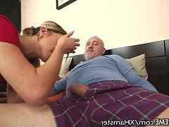 Blowjob Cumshot Teen Old and Young