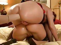 Anal Lesbian Threesome Fisting