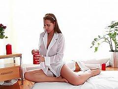 MILF Panties Massage Czech