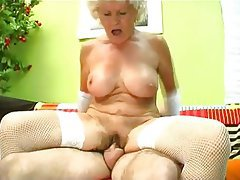 Granny Hairy Mature Old and Young