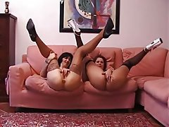 Anal Mature Threesome