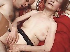 Granny Mature Pornstar Stockings