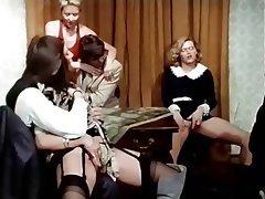 Group Sex Hairy Stockings Swinger