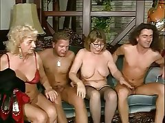 Granny Pornstar Stockings Group Sex