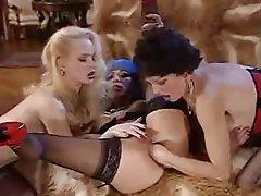 Anal Hardcore Lesbian Threesome