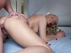 Anal Babe Blonde Cumshot Hardcore