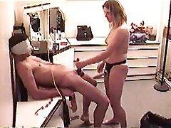 Amateur BDSM Femdom Strapon