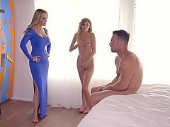 Threesome Boyfriend Teen Stepmom