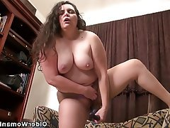 BBW Mature MILF Nylon