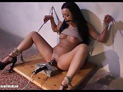 Brunette Pornstar BDSM Pussy