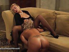 Lesbian BDSM Orgasm Mistress