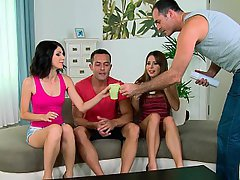Party Teen Foursome Foursome