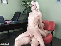 Blonde Hardcore Pornstar Skinny Doctor