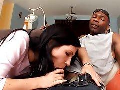 Anal Brunette Interracial Pornstar